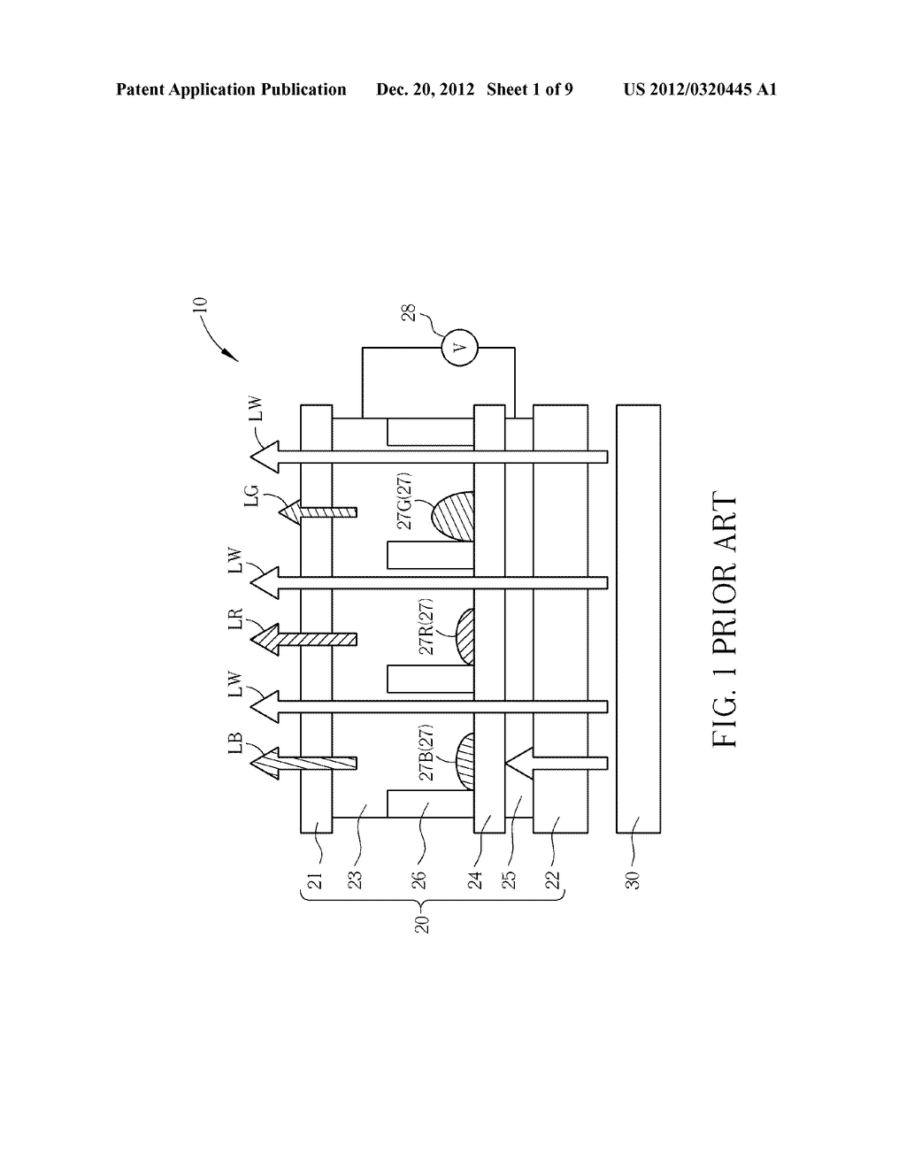 SWITCHABLE TRANSPARENT ELECTROWETTING DISPLAY DEVICE - diagram, schematic, and image 02