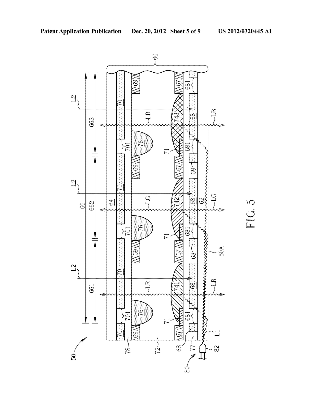 SWITCHABLE TRANSPARENT ELECTROWETTING DISPLAY DEVICE - diagram, schematic, and image 06