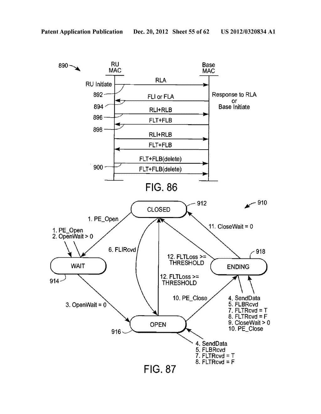 Adaptive Communications Methods for Multiple User Packet Radio Wireless     Networks - diagram, schematic, and image 56
