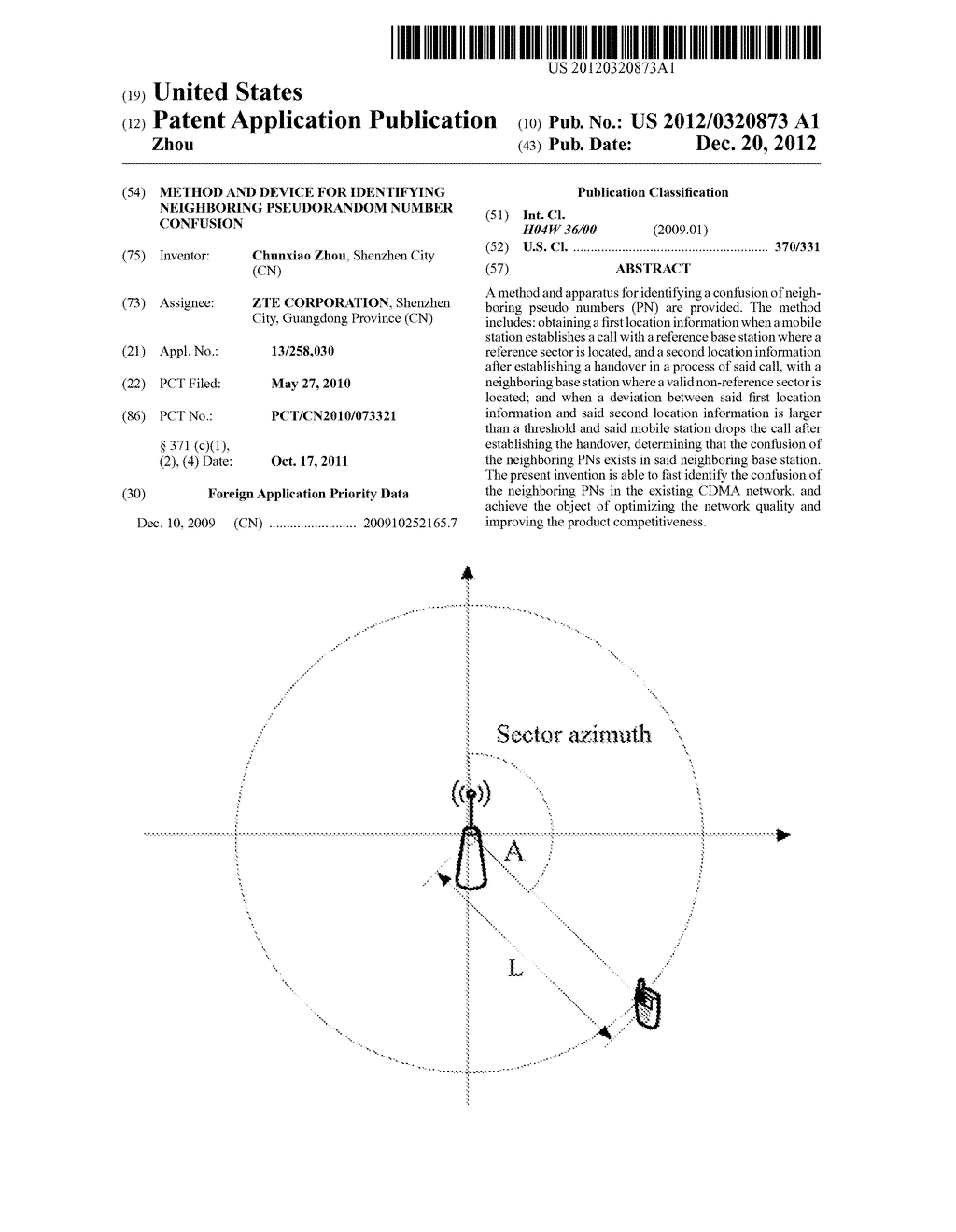 Method and Device for Identifying Neighboring Pseudorandom Number     Confusion - diagram, schematic, and image 01
