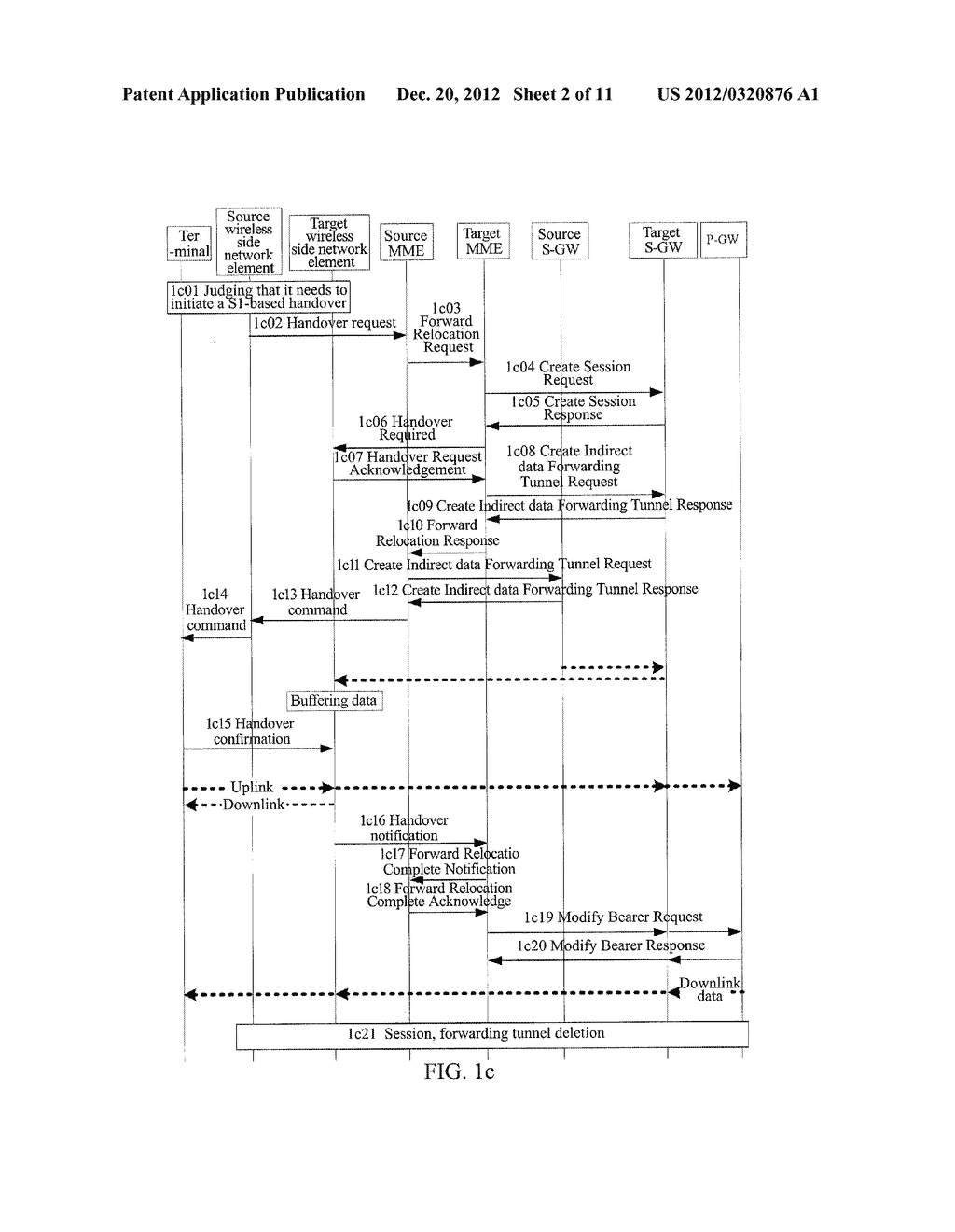 METHOD AND SYSTEM FOR TERMINAL HANDOVER IN WIRELESS COMMUNICATION SYSTEM - diagram, schematic, and image 03