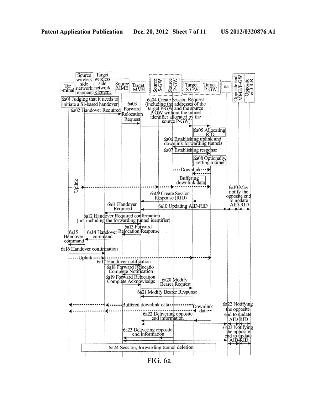 METHOD AND SYSTEM FOR TERMINAL HANDOVER IN WIRELESS COMMUNICATION SYSTEM - diagram, schematic, and image 08