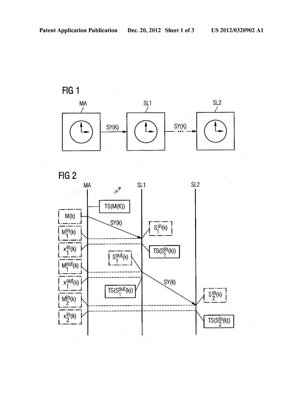 Method for Time Synchronization in a Communication Network - diagram, schematic, and image 02
