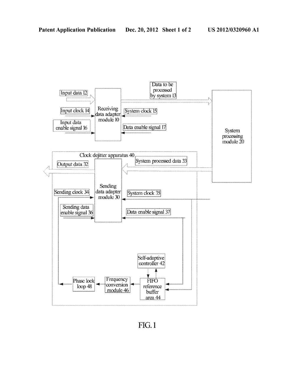Method, Device and System for Clock Dejitter - diagram, schematic, and image 02