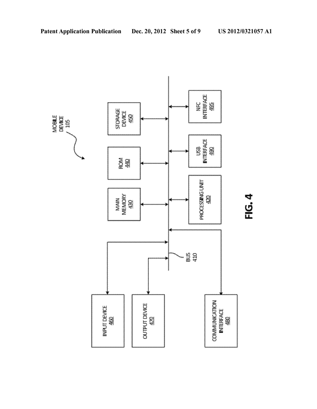 DOCKING STATION FOR MOBILE DEVICE FOR DISPLAYING CONTACT INFORMATION - diagram, schematic, and image 06