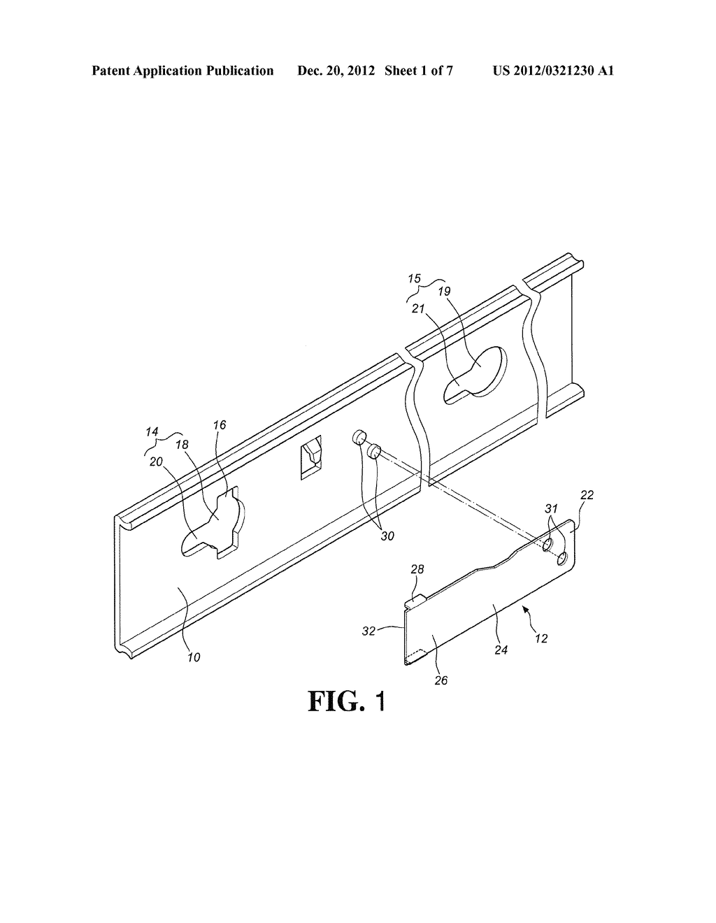 POSITIONING MECHANISM FOR QUICK RELEASE DEVICE OF SLIDE ASSEMBLY - diagram, schematic, and image 02