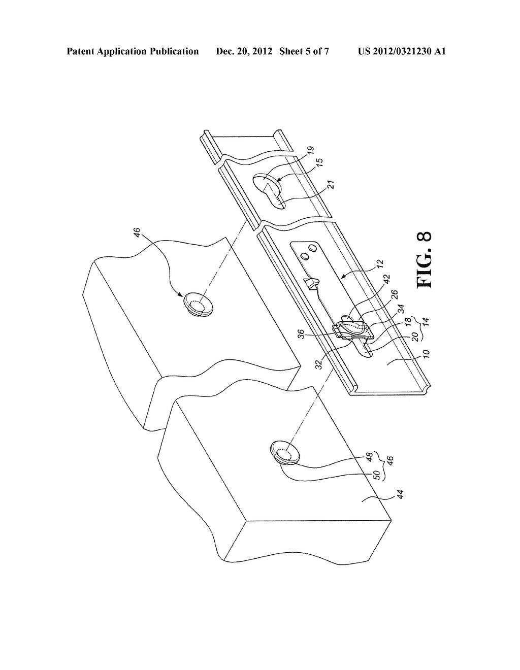 POSITIONING MECHANISM FOR QUICK RELEASE DEVICE OF SLIDE ASSEMBLY - diagram, schematic, and image 06