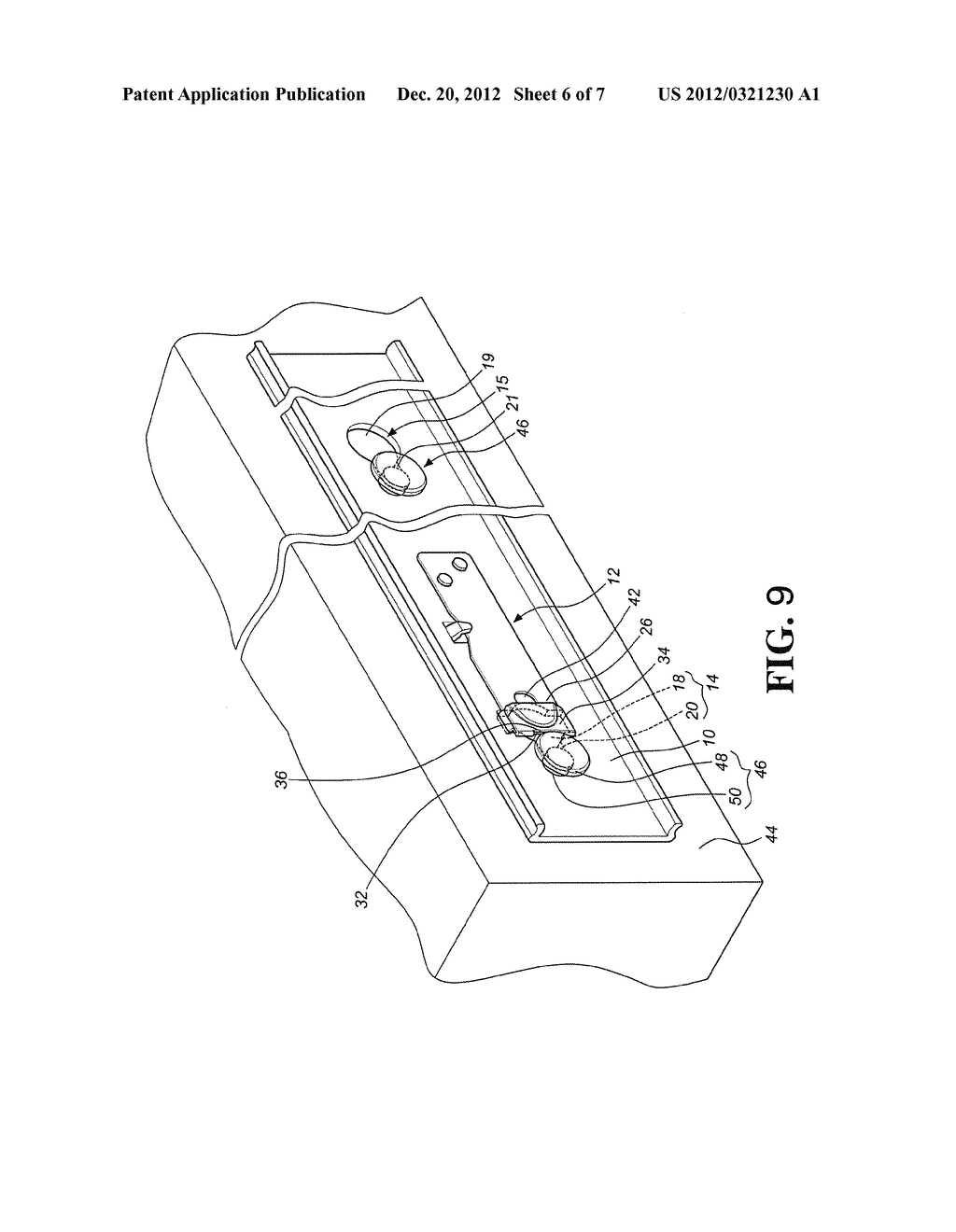 POSITIONING MECHANISM FOR QUICK RELEASE DEVICE OF SLIDE ASSEMBLY - diagram, schematic, and image 07