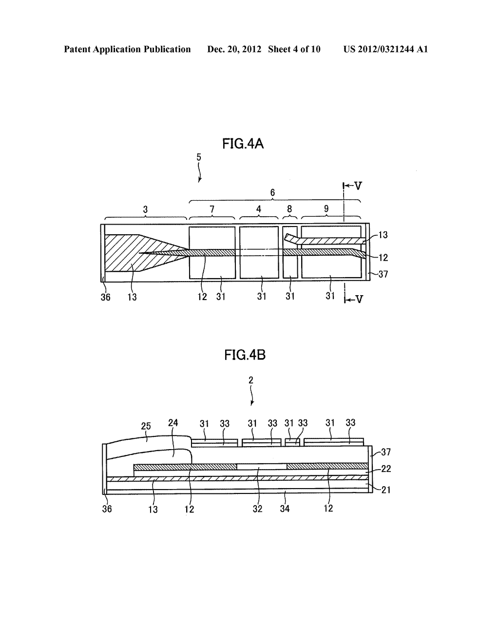 OPTICAL SEMICONDUCTOR DEVICE, AND MANUFACTURING METHOD THEREOF - diagram, schematic, and image 05