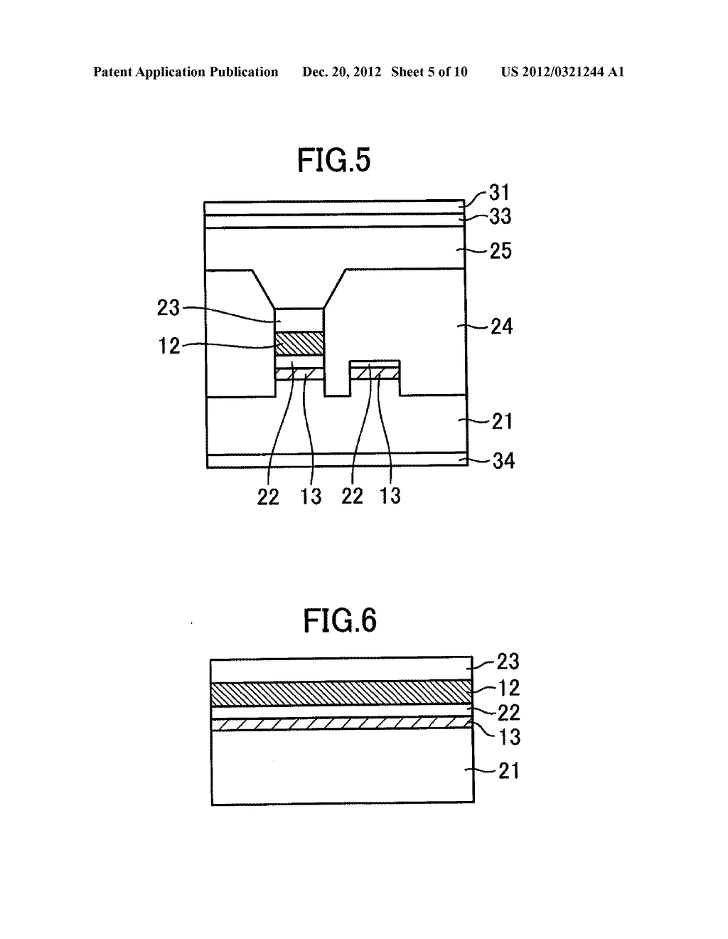 OPTICAL SEMICONDUCTOR DEVICE, AND MANUFACTURING METHOD THEREOF - diagram, schematic, and image 06