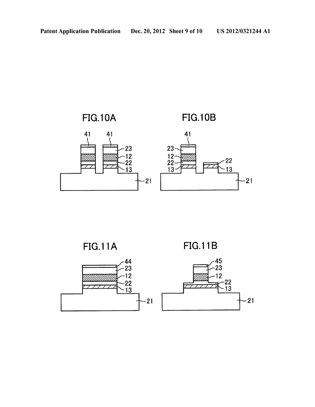 OPTICAL SEMICONDUCTOR DEVICE, AND MANUFACTURING METHOD THEREOF - diagram, schematic, and image 10