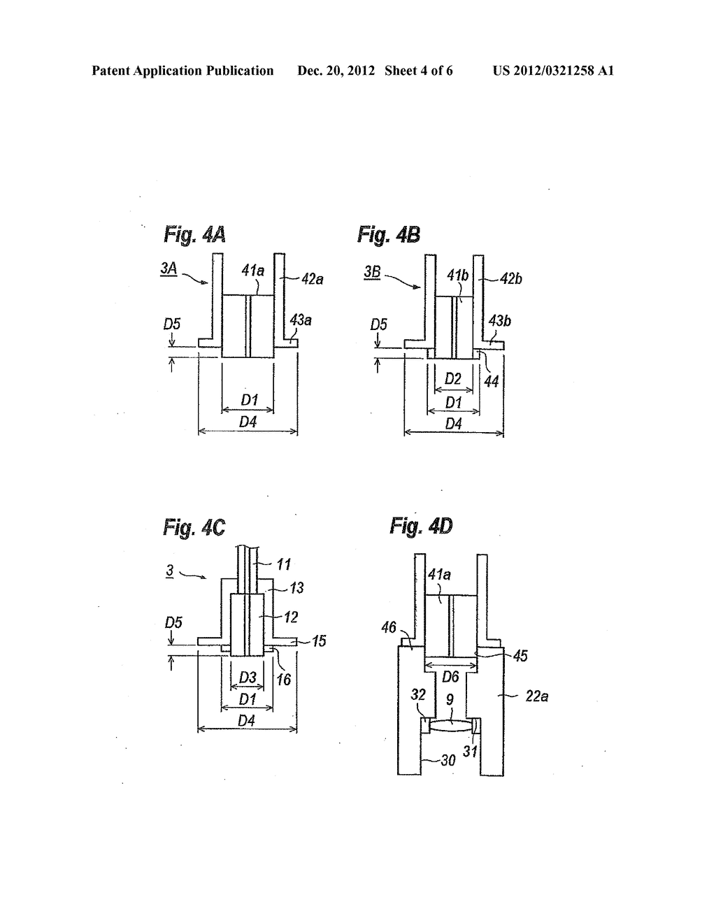 OPTICAL MODULE WITH FIBER UNIT AUTOMATICALLY ALIGNED WITH HOUSING - diagram, schematic, and image 05