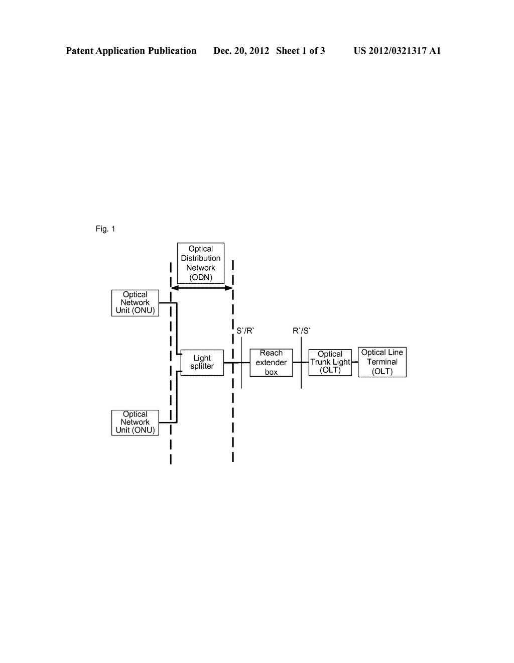 Long-Distance Box and Method for Processing Uplink and Downlink Lights     Thereof - diagram, schematic, and image 02