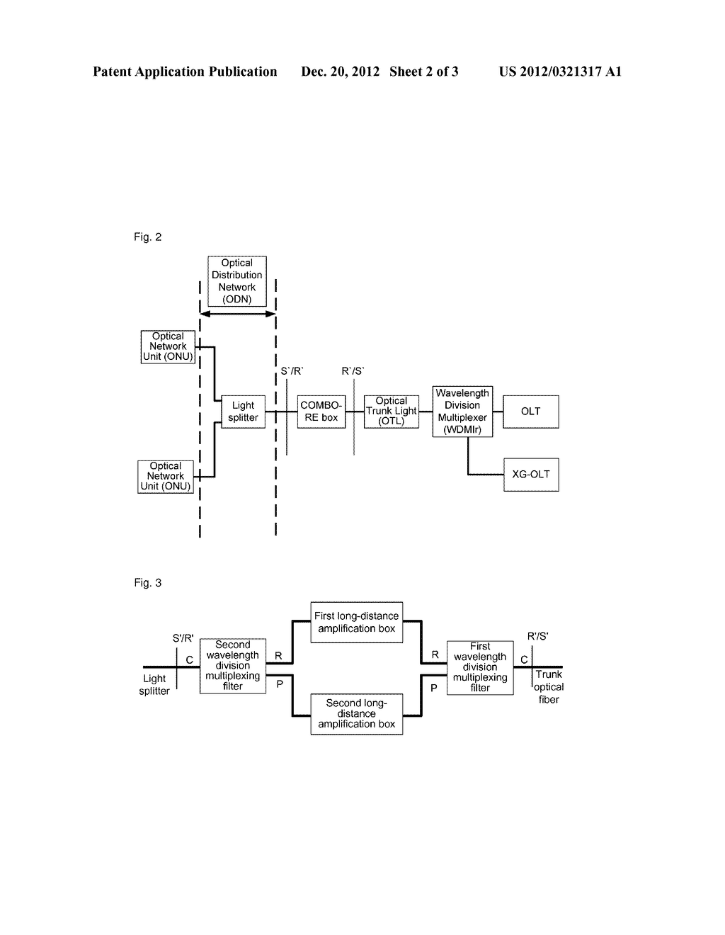 Long-Distance Box and Method for Processing Uplink and Downlink Lights     Thereof - diagram, schematic, and image 03