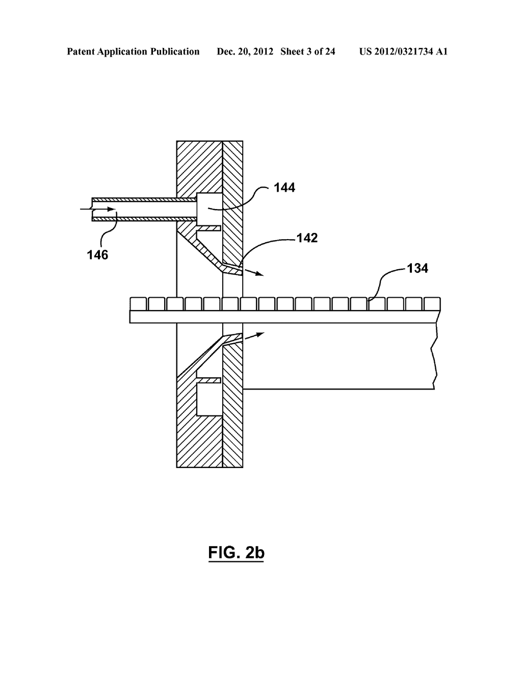 METHOD AND APPARATUS FOR EXTRUSION OF THERMOPLASTIC HANDRAIL - diagram, schematic, and image 04