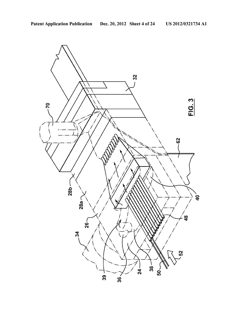 METHOD AND APPARATUS FOR EXTRUSION OF THERMOPLASTIC HANDRAIL - diagram, schematic, and image 05
