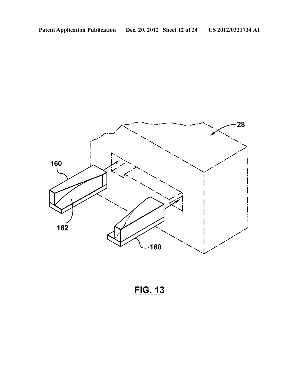 METHOD AND APPARATUS FOR EXTRUSION OF THERMOPLASTIC HANDRAIL - diagram, schematic, and image 13