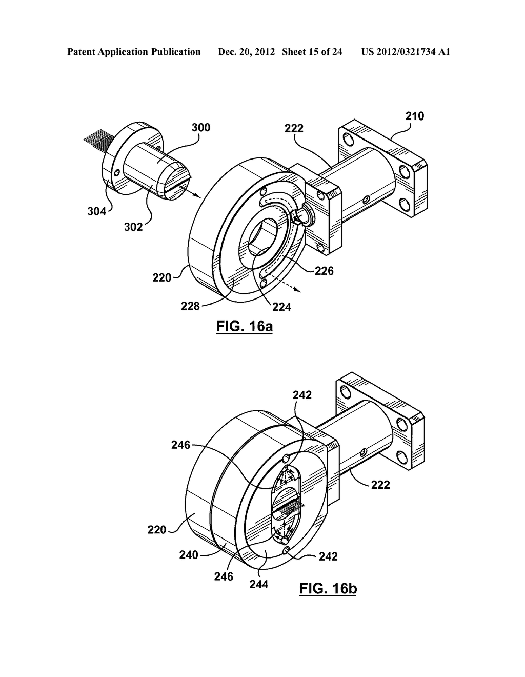 METHOD AND APPARATUS FOR EXTRUSION OF THERMOPLASTIC HANDRAIL - diagram, schematic, and image 16