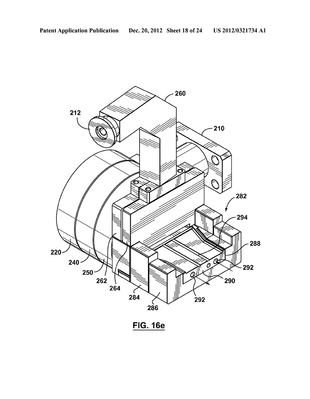 METHOD AND APPARATUS FOR EXTRUSION OF THERMOPLASTIC HANDRAIL - diagram, schematic, and image 19
