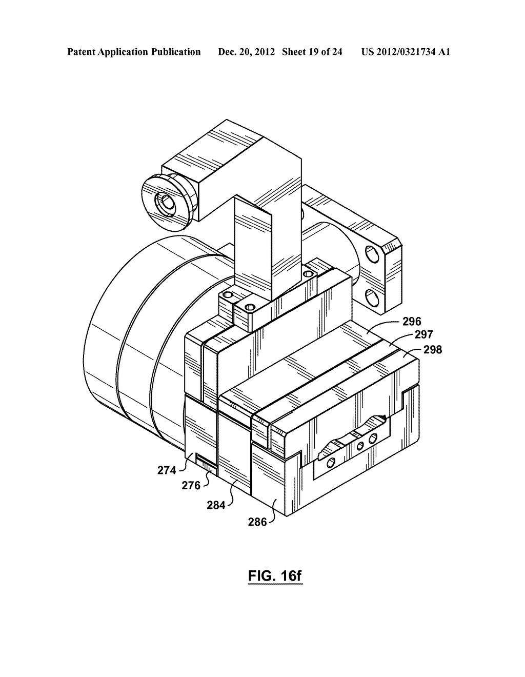 METHOD AND APPARATUS FOR EXTRUSION OF THERMOPLASTIC HANDRAIL - diagram, schematic, and image 20