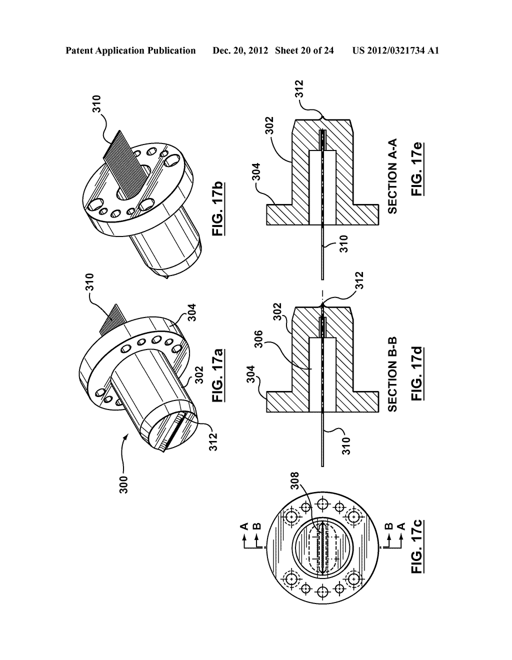 METHOD AND APPARATUS FOR EXTRUSION OF THERMOPLASTIC HANDRAIL - diagram, schematic, and image 21