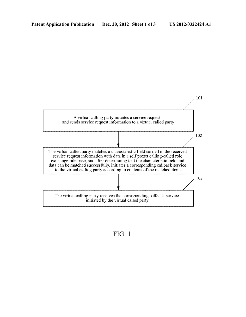 METHOD AND SYSTEM FOR EXCHANGING CALLING AND CALLED ROLES OF COMMUNICATION     TERMINALS - diagram, schematic, and image 02