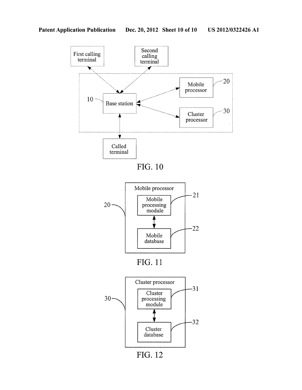 METHOD, SYSTEM AND BASE STATION FOR IMPLEMENTING COMPATIBILITY BETWEEN     MOBILE CALL WAITING AND CLUSTER CALL WAITING - diagram, schematic, and image 11