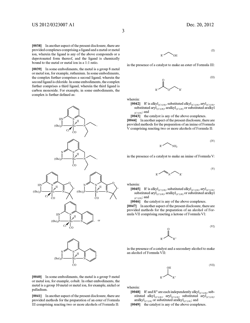PHOSPHO-AMINO PINCER-TYPE LIGANDS AND CATALYTIC METAL COMPLEXES THEREOF - diagram, schematic, and image 11
