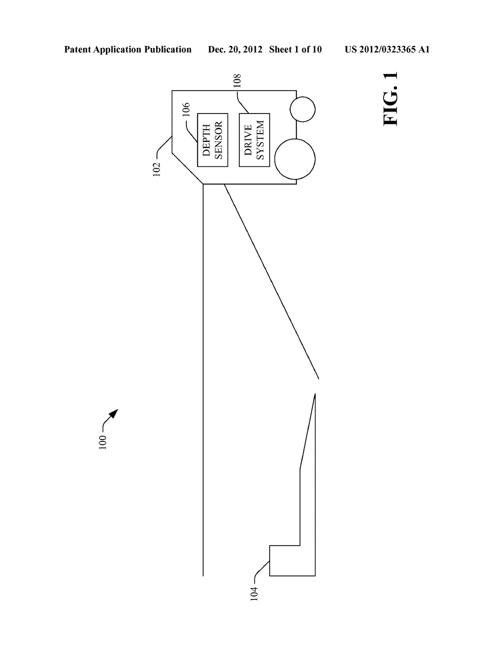DOCKING PROCESS FOR RECHARGING AN AUTONOMOUS MOBILE DEVICE - diagram, schematic, and image 02