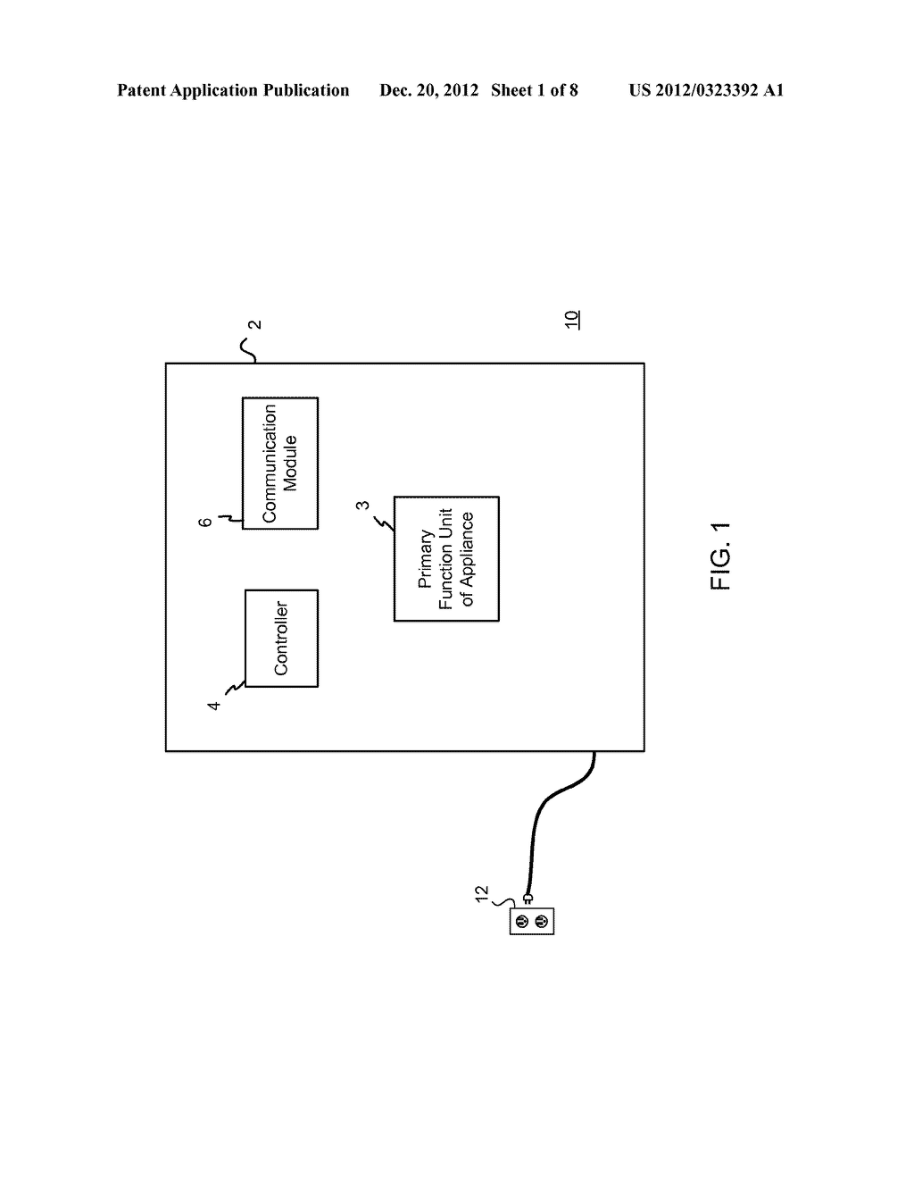 SYSTEM AND METHOD OF OPERATING HOUSEHOLD APPLIANCES - diagram, schematic, and image 02