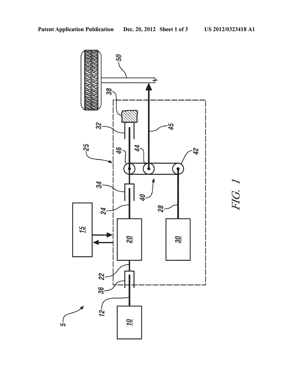 METHOD AND APPARATUS FOR CONTROLLING AN ENGINE DISCONNECT CLUTCH IN A     POWERTRAIN SYSTEM - diagram, schematic, and image 02