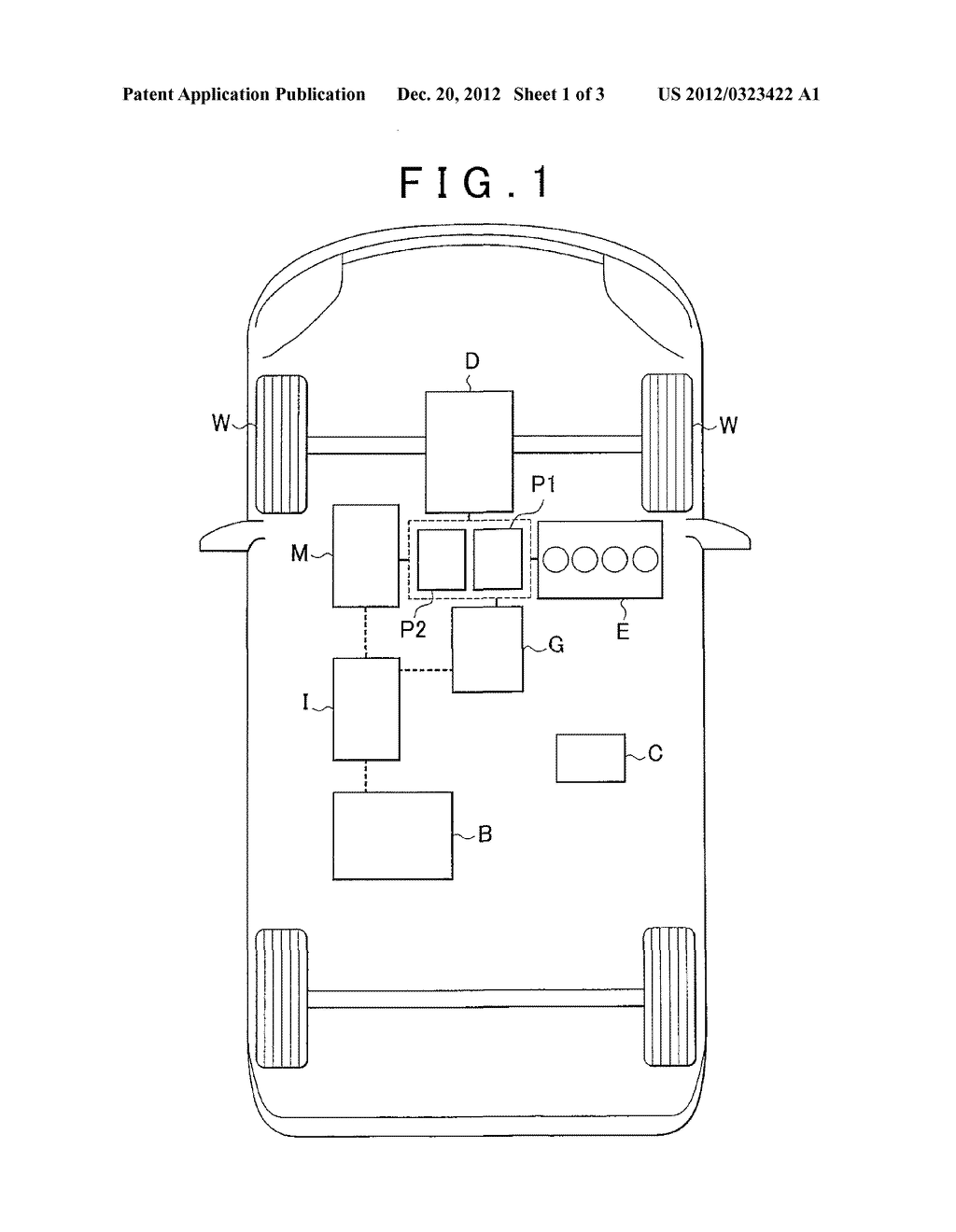 CONTROL APPARATUS FOR HYBRID VEHICLE - diagram, schematic, and image 02