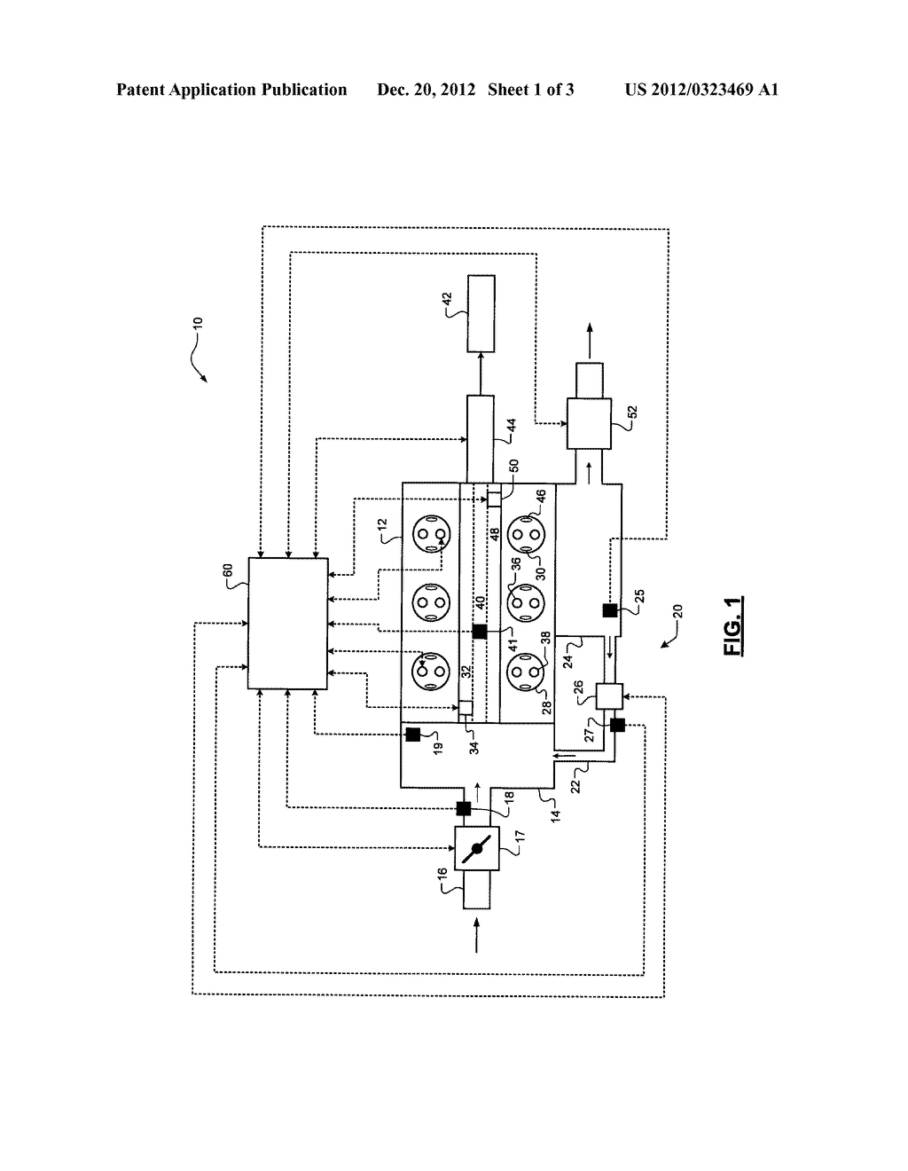 SYSTEM AND METHOD FOR CONTROLLING EXHAUST GAS RECIRCULATION - diagram, schematic, and image 02
