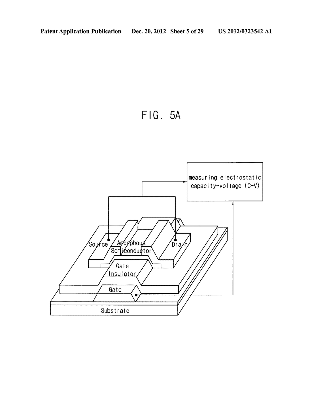 METHOD FOR CALCULATING PARAMETER VALUES OF THIN-FILM TRANSISTOR AND     APPARATUS FOR PERFORMING THE METHOD - diagram, schematic, and image 06