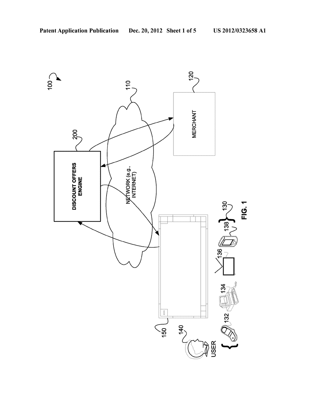 SYSTEMS AND METHODS FOR PROVIDING DISCOUNT OFFERS VIA AN INTERNET     DIRECTORY INTERFACE - diagram, schematic, and image 02