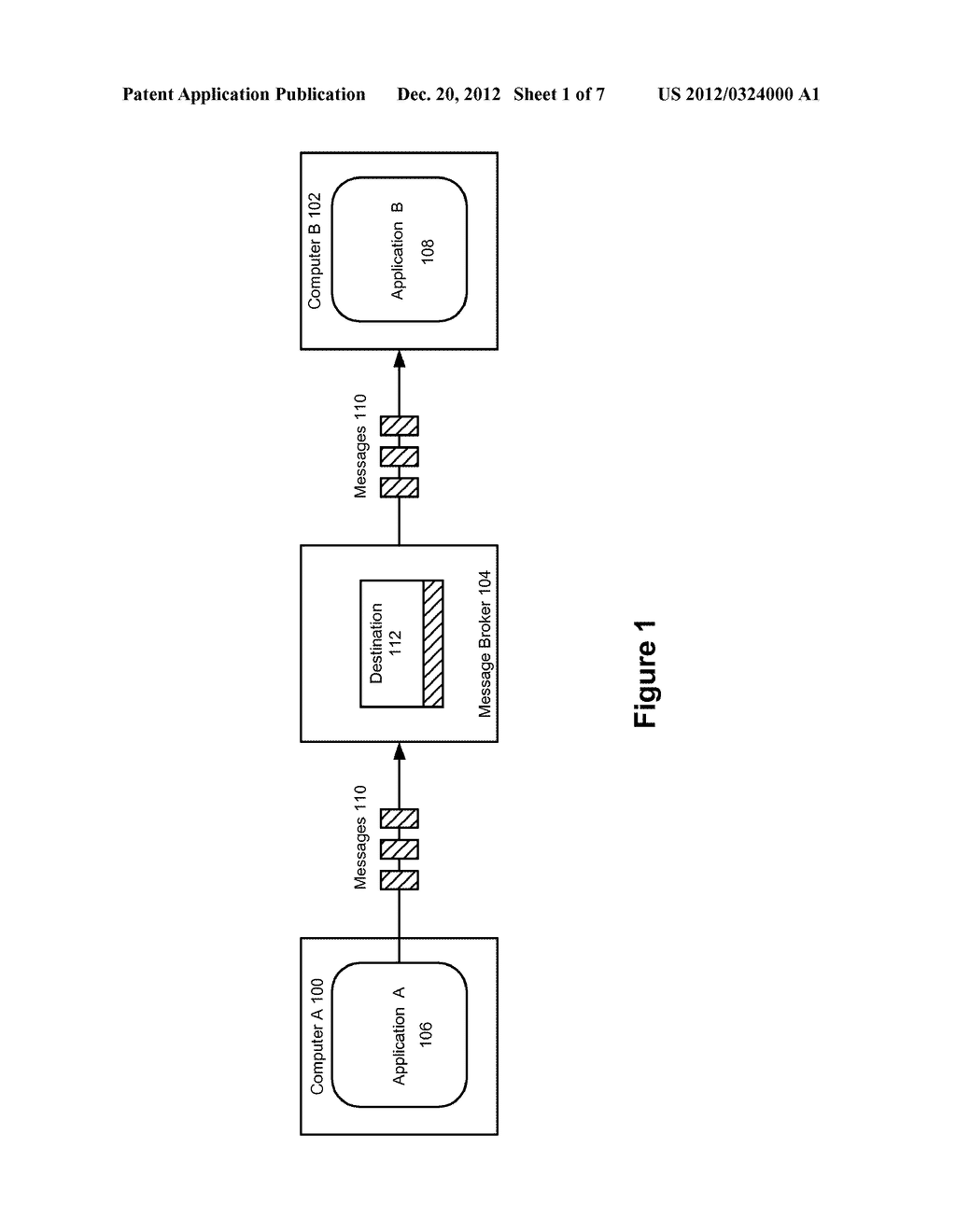 SYSTEM AND METHOD FOR FLOW CONTROL IN A MESSAGING SUBSYSTEM BASED ON     MESSAGE-IN/OUT RATES - diagram, schematic, and image 02