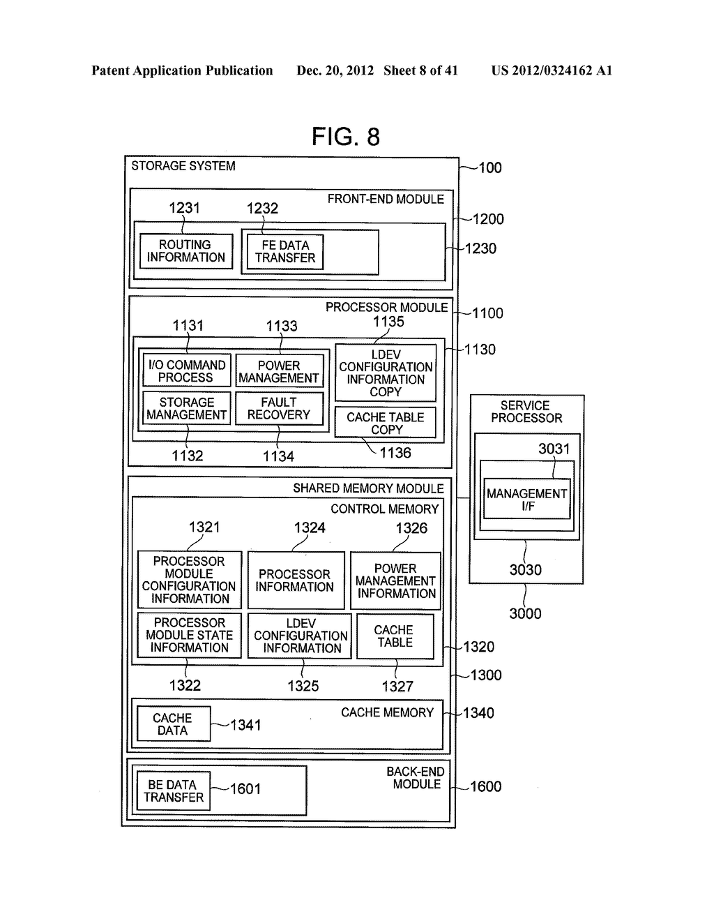 STORAGE SYSTEM COMPRISING FUNCTION FOR REDUCING POWER CONSUMPTION - diagram, schematic, and image 09