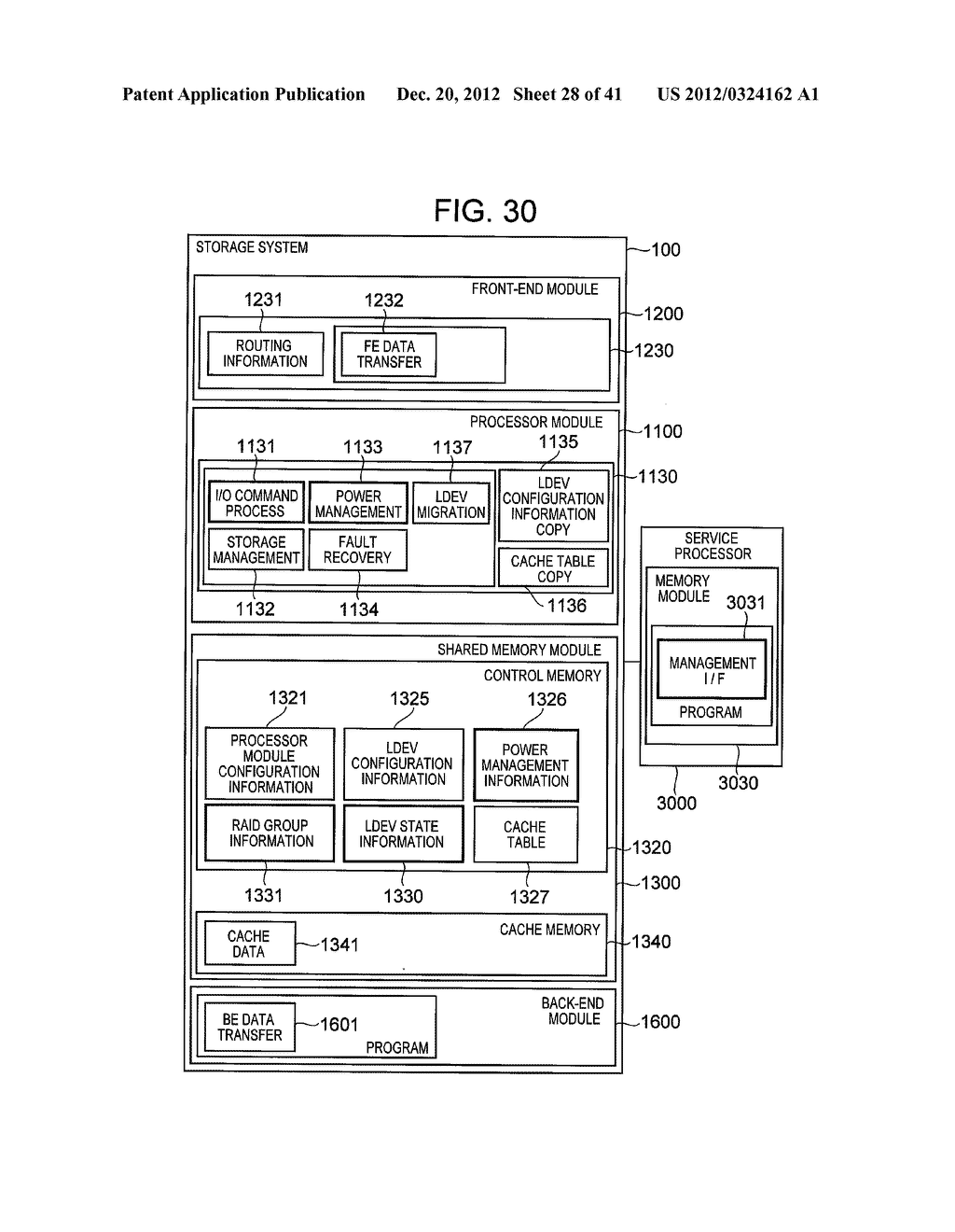 STORAGE SYSTEM COMPRISING FUNCTION FOR REDUCING POWER CONSUMPTION - diagram, schematic, and image 29