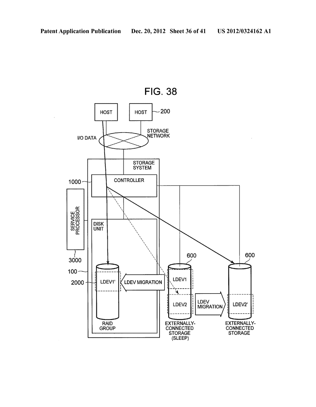 STORAGE SYSTEM COMPRISING FUNCTION FOR REDUCING POWER CONSUMPTION - diagram, schematic, and image 37