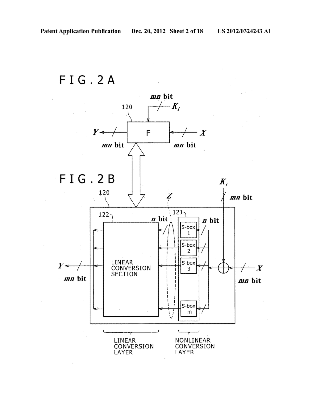 CRYPTOGRAPHIC PROCESSING APPARATUS, CRYPTOGRAPHIC PROCESSING METHOD, AND     COMPUTER PROGRAM THEREFOR - diagram, schematic, and image 03
