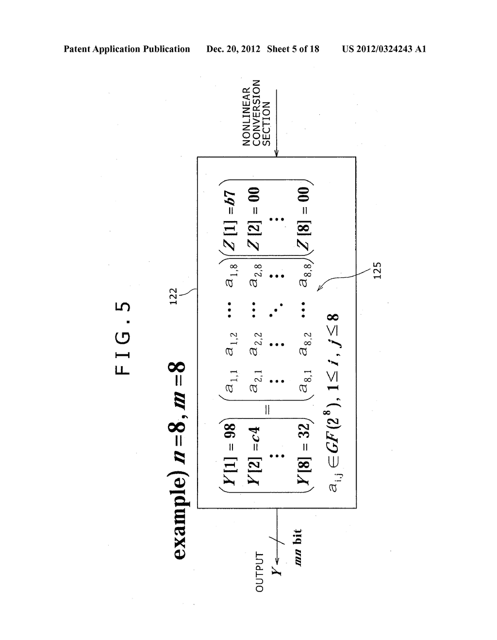CRYPTOGRAPHIC PROCESSING APPARATUS, CRYPTOGRAPHIC PROCESSING METHOD, AND     COMPUTER PROGRAM THEREFOR - diagram, schematic, and image 06