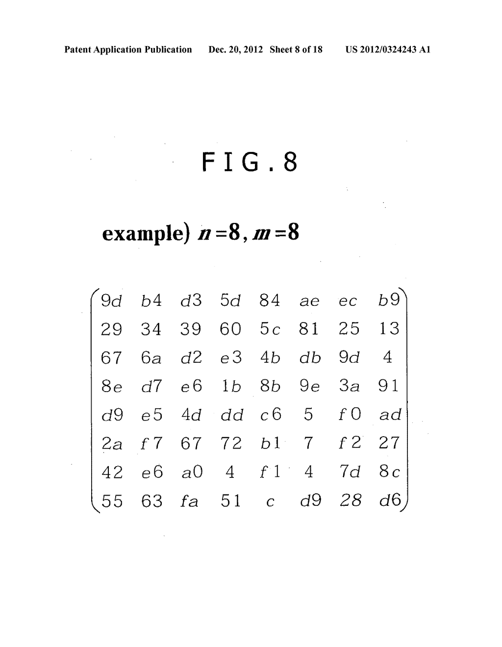 CRYPTOGRAPHIC PROCESSING APPARATUS, CRYPTOGRAPHIC PROCESSING METHOD, AND     COMPUTER PROGRAM THEREFOR - diagram, schematic, and image 09
