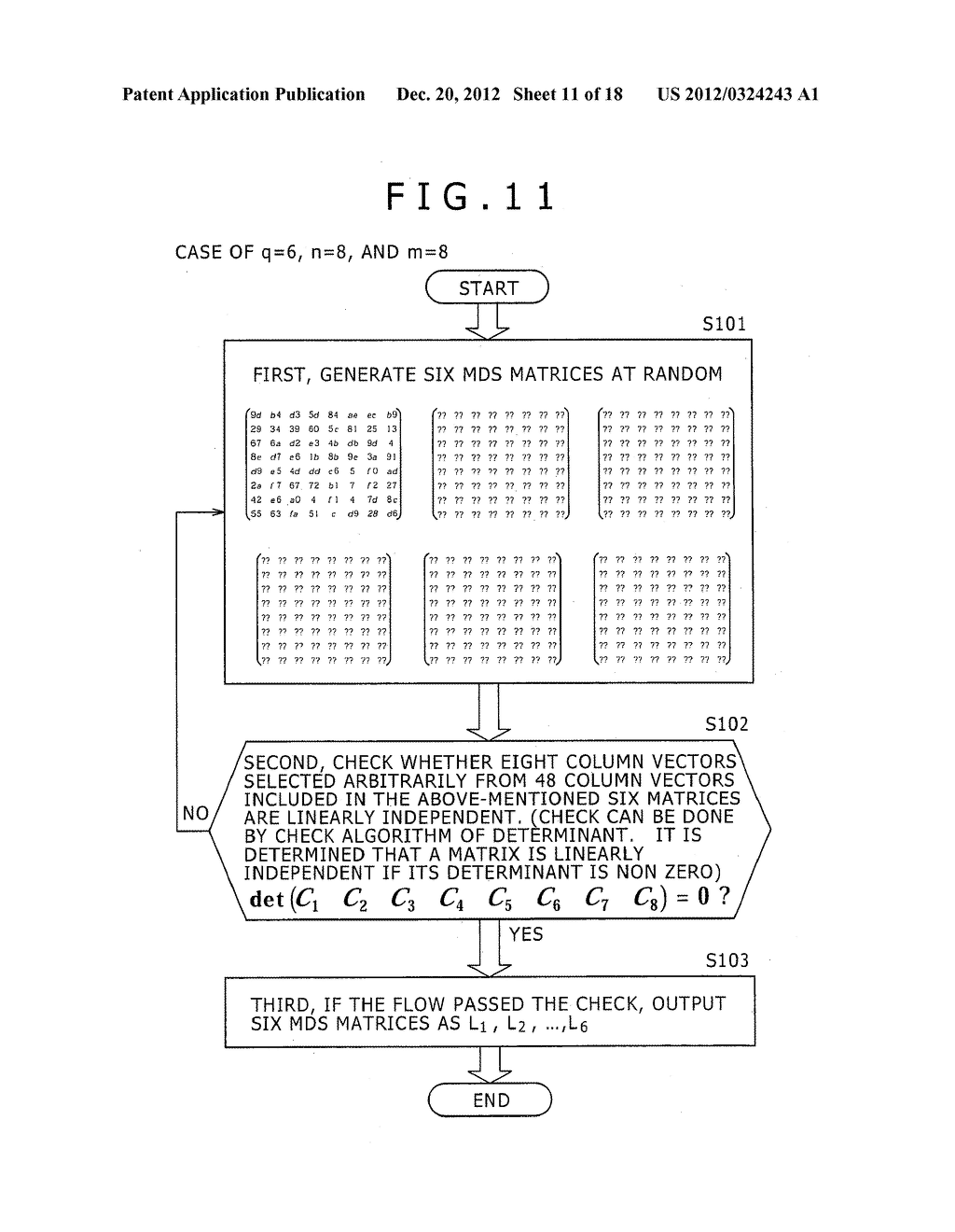 CRYPTOGRAPHIC PROCESSING APPARATUS, CRYPTOGRAPHIC PROCESSING METHOD, AND     COMPUTER PROGRAM THEREFOR - diagram, schematic, and image 12