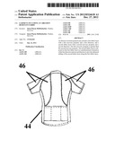 GARMENT INCLUDING AN ABRASION RESISTANT FABRIC diagram and image