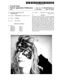 REUSABLE STRAPLESS LACE MASQUERADE diagram and image