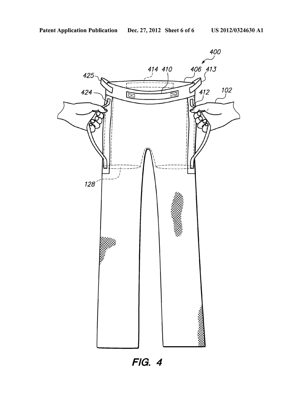 LIFT SUPPORT GARMENT SYSTEM - diagram, schematic, and image 07