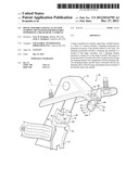 HINGE ASSEMBLY HAVING AN UP STOP DAMPING MECHANISM FOR ROTATABLY     SUPPORTING A DECKLID OF A VEHICLE diagram and image