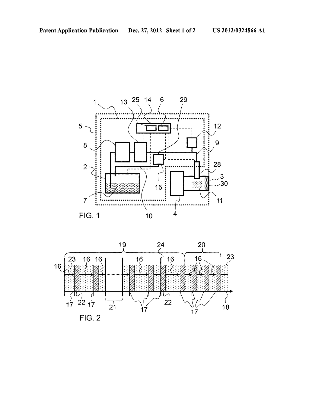 METHOD FOR OPERATING A DELIVERY DEVICE FOR A REDUCING AGENT AND DELIVERY     DEVICE FOR A REDUCING AGENT - diagram, schematic, and image 02