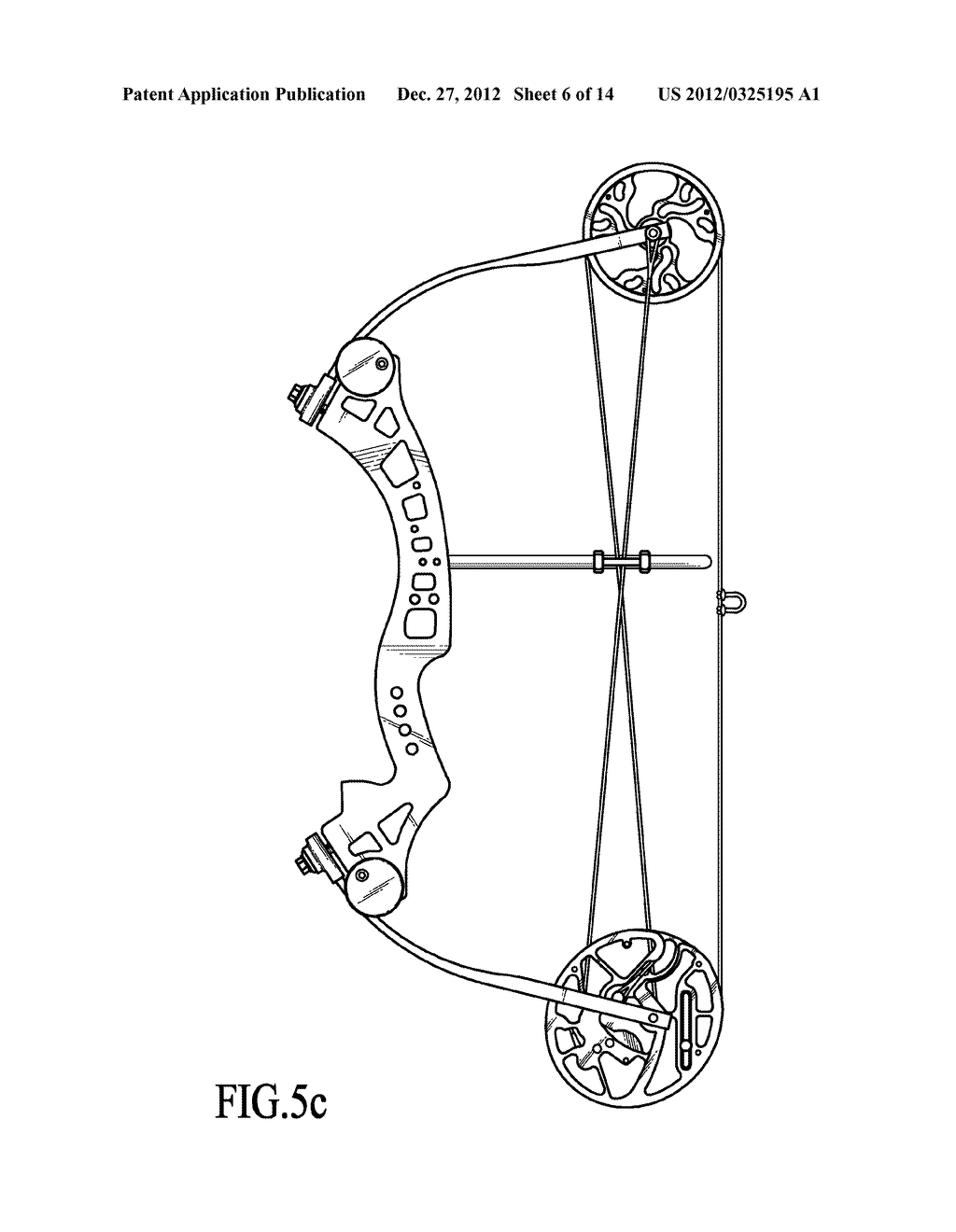 Single Cam Compound Bow - diagram, schematic, and image 07