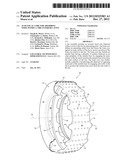 ACOUSTICAL CORE FOR ABSORBING NOISE WITHIN A TIRE INTERIOR CAVITY diagram and image